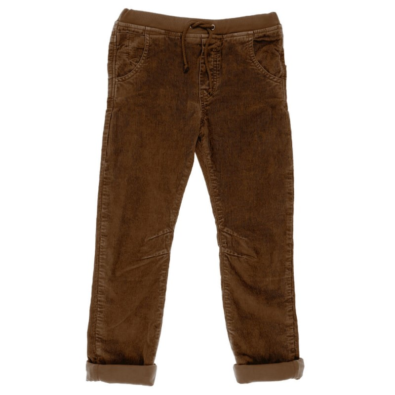 Kids Corduroy Pants Trousers Brown Wholesale