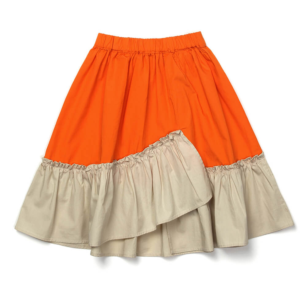 Toddler Little Girls Tulle Tutu Short Skirt Asymmetrical A-line