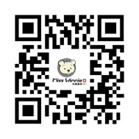 Miss Winnie Kids Clothes website QR code